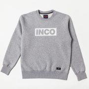 INCO Records - Szara bluza 5